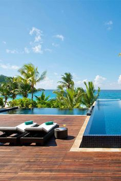 The Banyan Tree Seychelles is arguable the most romantic resort on the island of Mahe, with large, quasi-French Colonial villas that ooze luxury and privacy. It's a #Fodors100 Hotel Awards winner in the Blissful Beach Retreats category.