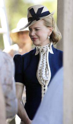 Nicole Kidman, from the movie Australia (by Baz Luhmann) Hat by Rosie Boylan... I think!)