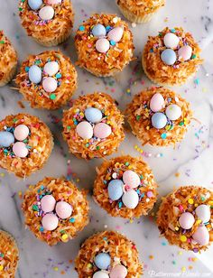 The Ultimate Coconut Cream Cupcakes Holiday Cupcakes, Easter Cupcakes, Coconut Cream Cupcakes, Spring Treats, Mini Eggs, Easter Brunch, Easter Recipes, Cupcake Recipes, Good Food