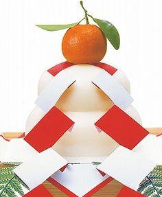 鏡餅 kagami mochi for Oshogatsu (New Year's)