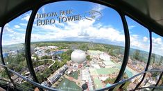 Europa Park Euro Tower 360° VR POV Onride Park, Airplane View, Tower, Europe, Rook, Computer Case, Parks, Building