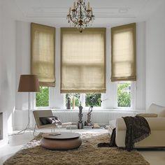 raffrollo von silent gliss in altbau decoration. Black Bedroom Furniture Sets. Home Design Ideas