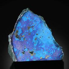 Covellite With Bournonite (very rare) ~ Lubin Mine, Lubin District, Lower Silesia, Poland