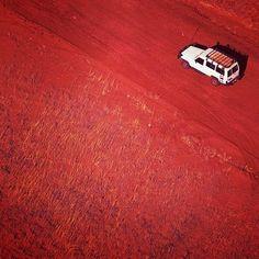 Australias rich red earth