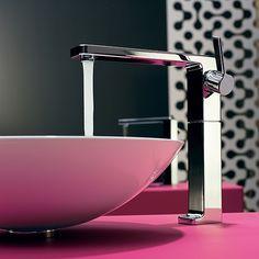 Смесители и душевые системы Dornbracht: LULU #hogart_art #interiordesign #design #apartment #house #bathroom #fucet #bath #dornbracht