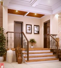 Modern Bungalow House of Traditional Touch with Splendid Interior Concepts - Pinoy House Designs - Pinoy House Designs House Floor Design, Modern Bungalow House Design, Small Bungalow, Bungalow Interiors, Simple House Design, Bungalow House Plans, Modern House Plans, Modern Farmhouse Exterior, Surfers