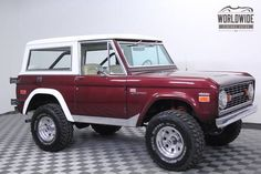 1970 Ford Bronco SUV