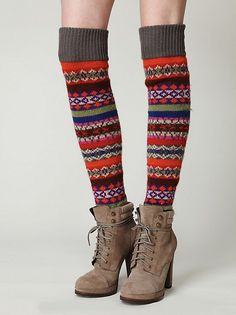 Free People Bruna Tall Sock at Free People Clothing Boutique