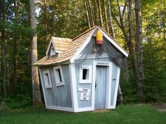 Playhouse - boat shed.