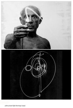 Pablo picasso - light drawings