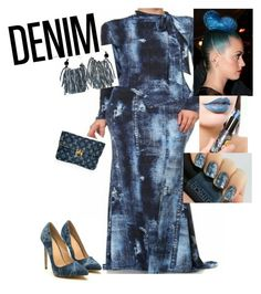 """Denim"" by prissygurla1 ❤ liked on Polyvore featuring Denimondenim"