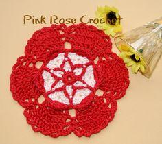 Flor+Centrinho+Vermelho+Fiesta+Glass+Coaster+by+Pink+Rose+Crochet.png (1200×1072)