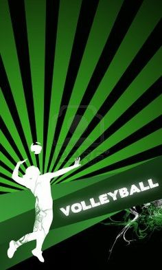 pin volleyball flyer template