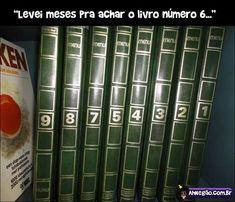 Livro perdido!