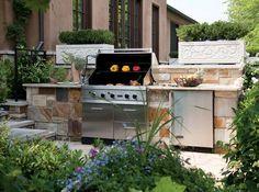 outdoor kitchen Design idea