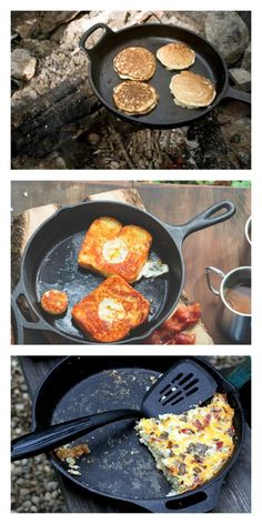 Yum. Quick and easy Camping recipes.