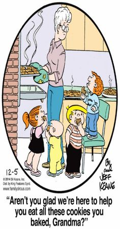 Created by Bil Keane and based loosely on his life, Family Circus is about the challenges and adventures of a suburban family of six. Love My Family, Family Circle, Family Circus Cartoon, Quotes About Grandchildren, Grandma Quotes, Online Comics, Classic Cartoons, Funny Cartoons, Comic Strips