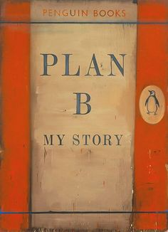 Harland Miller - Plan B - My Story, 2004.  Oil on canvas
