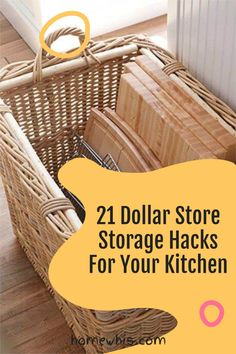 Here are 21 organization ideas to organize your whole kitchen with a single trip to the dollar store! These Dollar Store organization ideas will declutter your kitchen, increase storage space, keep everything perfectly organized and will save you lots of money! How to organize under the kitchen sink, kitchen cabinet, pantry, countertop, fridge are included! Visit the post to learn how! #homewhis #dollarstore #dollarstoreorganization #kitchenorganization #cabinetorganization Chest Freezer Organization, Under Kitchen Sink Organization, Organization Ideas, Cupcake Liner Storage, Declutter, Organize, Two Tone Kitchen Cabinets, Spice Bottles, Storage Hacks