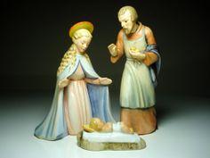 Hummel Christmas Nativity Set - Mary, Joseph and Baby Jesus