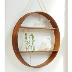 Inspired by vintage bentwood furniture, these shelves are crafted by an artisan in the Victorian countryside in Australia.