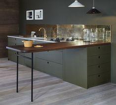 Green Kitchen Naked Kitchens