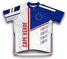 Cape Verde ScudoPro Short Sleeve Cycling Jersey for Men  Size 3XL *** Want additional info? Click on the image.