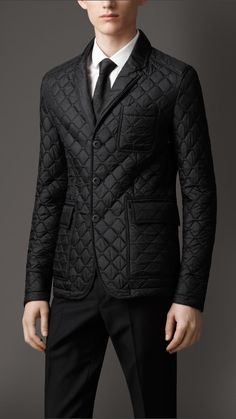 Burberry men's quilted blazer. | Clothes and Such | Pinterest ... : mens quilted sport coat - Adamdwight.com