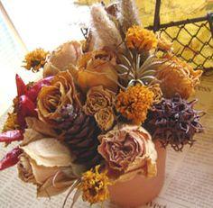Flores secas-elhogarnatural.com-varias tecnicas para secar flores y ramas