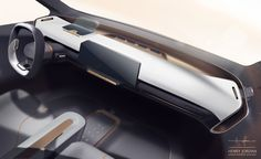 01_Interior for Citroen on Behance