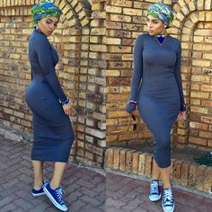x A gorgeous Kogi single lady is searching for a cute guy who is open-minded Black Girl Fashion, Look Fashion, Womens Fashion, Casual Dresses, Dress Outfits, Fashion Dresses, African Inspired Fashion, African Fashion, African Attire