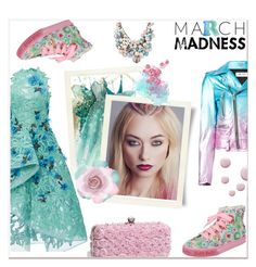 """March Madness: High Tops"" by delucia ❤ liked on Polyvore featuring Monique Lhuillier, Givenchy, Lelli Kelly, In Your Dreams, Yves Saint Laurent, Betsey Johnson, Topshop, Accessorize and marchmadness"