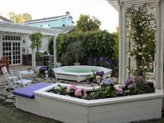 Use these garden hacks to make a small outdoor space feel larger.
