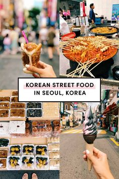 Korean Street Food in Seoul Korea by A Taste of Koko. Here's the ultimate list of must try Korean street foods in Seoul, Korea. How many have you had? #koreanstreetfood #explorekorea #exploreseoul Tteokbokki, Korean Fried Chicken, Fishcakes, Austin Food, Korean Street Food, Banana Milk, Seoul Korea, Food Porn, Treats