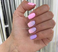 Nail Shapes - My Cool Nail Designs Fabulous Nails, Gorgeous Nails, Stylish Nails, Trendy Nails, Ombre Nail Designs, Nail Art Designs, Cute Acrylic Nails, Cute Nails, Pink Nails