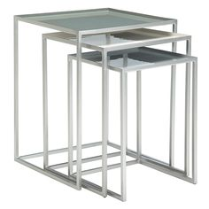 Buy Content by Terence Conran Accents, Nest of 3 Tables, Slate/Lily/Mineral Online at johnlewis.com