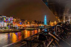 Amsterdam - Festival of Lights.  Beautiful.