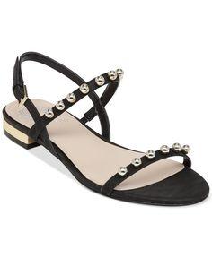 Vince Camuto Hopper Block Heel Flat Sandals