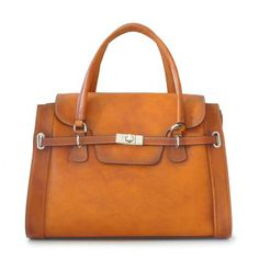Pratesi,Baratti, women leather handbag with shoulder strap,citybag.Made in Italy.