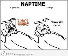 Rage Meme: Nap Time