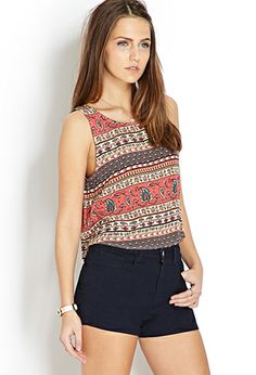 Down-To-Earth Crop Top | FOREVER21 - 2000124272