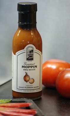 Everglades Seasoning Gourmet Moppin BBQ Sauce: if you find it on the shelves, grab it, try it, enjoy!