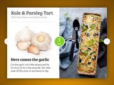Cooking Recipe card