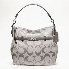 Grey coach - my new purse for Christmas!!!   Love it!!!