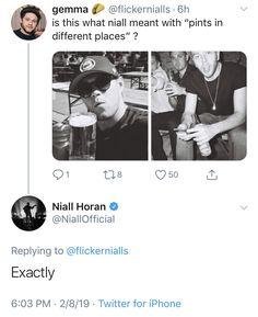 One Direction Humor, I Love One Direction, Niall Horan Funny, Irish Baby, Harry Styles Cute, James Horan, Irish Men, Guy Names, Larry Stylinson