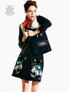 Harper's Bazaar Austrália April 2014   Coco Rocha by Todd Barry  [Editorial]