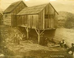 Ashland Mineral Springs - Ashland, Oregon - ca1915 Medford Oregon, Ashland Oregon, Old Photos, Vintage Photos, Oregon Washington, Local History, Old West, Historical Society, Ghost Towns