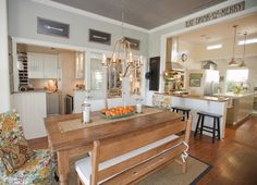 Austin Modern Farmhouse - eclectic - kitchen - ... | Kitchens/Dining ...