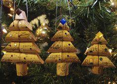~ Corkreation Christmas Cork Ornaments