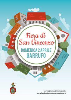 Fiera di San Vincenzo - Garrufo di Sant' Omero - Domenica 2 aprile 2017 - vini, formaggi, salumi, pizze e olio - Eventi Teramo
